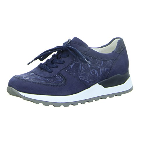 Waldläufer Damen Schnuerschuhe Hiroko 364013-423-200 blau 304980