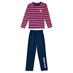 FC Bayern München Pyjama pour enfant, Mehrfarbig, 12 ans
