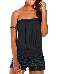 coupe classique promotion style roman Amazon.fr : Freestyle - T-shirts, tops et chemisiers / Femme ...