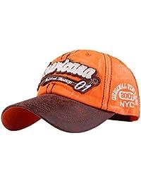 Topgrowth Cappello da Cowboy Cappello con Visiera Uomo Unisex Baseball  Cappelli Sportivi Ricamo Classico Cappello Visiera f3dddd8dcacf