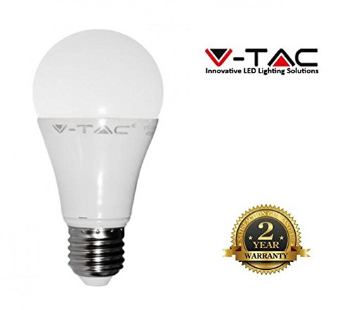 LED Leuchtmittel 10 W E27 800 Lumen (kaltweiß 6000 K) (Sah Drehen,)