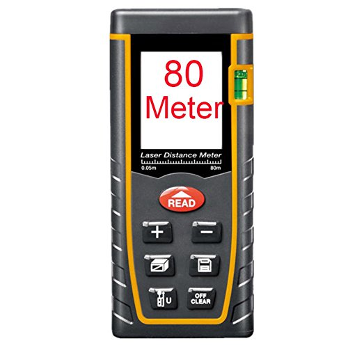 Preisvergleich Produktbild Etbotu Lumiparty Laserdistanzmesser Entfernungsmesser Entfernungsmesser Erstellungs Maß Vorrichtung Test Werkzeug 80M