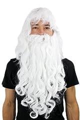 Idea Regalo - Parrucca e barba, Babbo Natale, Mago,Albus Silente