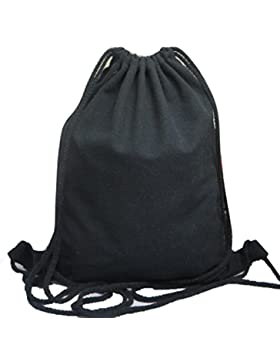 ZARU Unisex Rucksäcke Solide Taschen-Rucksack