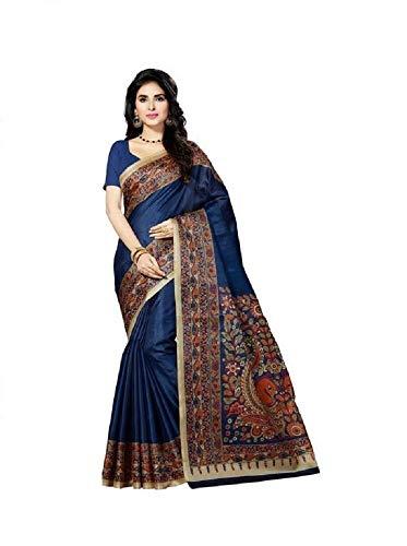 Sari Lehenga (Indian Bollywood Wedding Saree indisch Ethnic Hochzeit Sari New Kleid Damen Casual Tuch Birthday Crop top mädchen Cotton Silk Women Plain Traditional Party wear Readymade Kostüm)