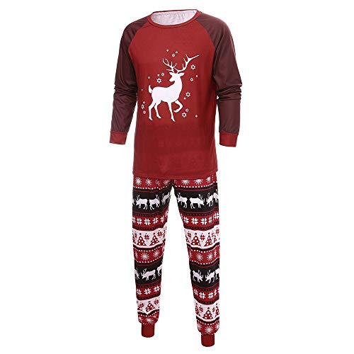 Longzjhd Ugly Weihnachten Pyjama Schlafanzug Familie Weihnachts Baby Xmas Weihnachtspyjama Nachtwäsche Kostüm Mode Hausanzug Kinder Sleepwear Set Damen Herren Mädchen Jungen