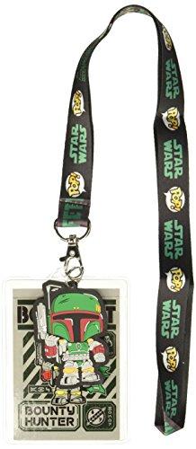 elband: Star Wars - Boba Fett mit Rückkarte zzCOULD Not FIND Sammlerstück, Mehrfarbig ()