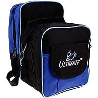 P Prettyia Bolso Impermeable Tote Bag de Moda para Pelota de Bolos Entrenamiento con Multifuncióm Bolsillos Color Opcional - Azul