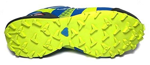 XR Trek Explorer Pro, Scarpe da Trail Running Cobalt/Black/Fluoresent Green