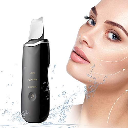 Cleansing Appliances Skin Scrubber Ultraschall Peelinggerät Peeling Porenreiniger Akne Entferner Ionen Hautreiniger Gesichtsreinigung Gesichtspflegeschaufelmaschine Vibrierender Ausrüstungs