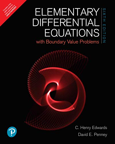 Elementary Differential Equations with Boundary Value Problems - Classic Version by Pearson