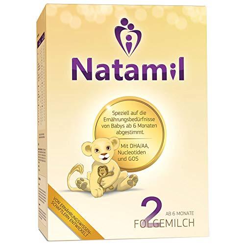 Natamil 2 Folgemilch, ab 6 Monate, 1er Pack (800 g)
