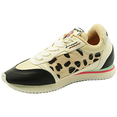 Dolfie , Chaussures spécial tennis pour fille Beige