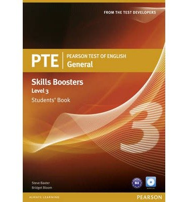 Pearson Test of English General Skills Booster 3 Students' Book and CD Pack (Mixed media product) - Common