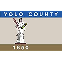 magFlags Bandera Large Yolo County, California | Yolo County, California, U.S | bandera paisaje | 1.35m² | 90x150cm