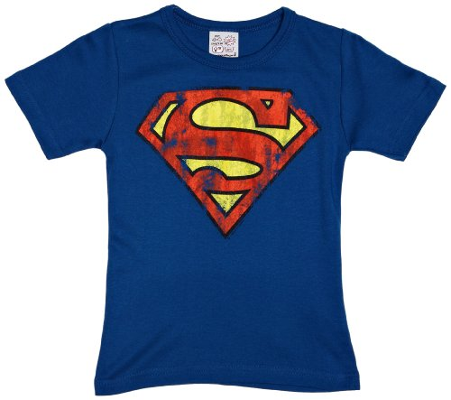 Superman T SHIRT Kinder Kostüm - Logoshirt Jungen T-Shirt  Superman logo,