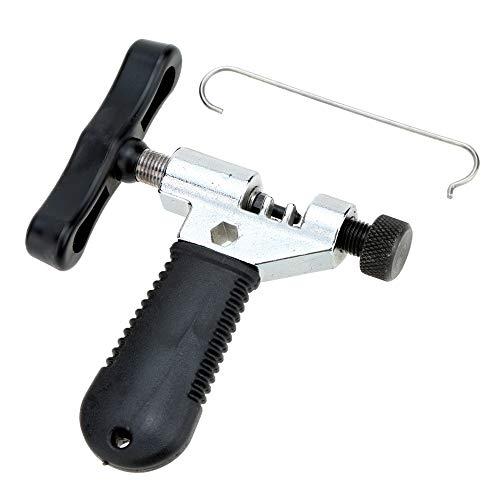 ahrradzubehör Fahrradkettenwerkzeug Stahl Fahrradkettenglied Entferner Repair Tool mit Entfernungsstiften für Rennrad Mountainbike für Reiter ()