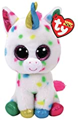 Idea Regalo - Binney & Smith (Europe) Ltd Beanie Boos Harmonie Giocattolo di Unicorno, Multicolore, 15 cm 829252