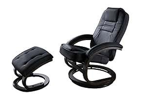 SixBros. Poltrona sedia relax TV colore nero 007-B/93