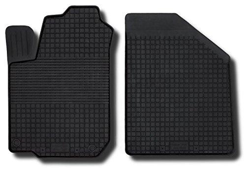 Preisvergleich Produktbild Fußmatten Gummimatten Winter Auto-matten Gummi hoher Rand 2-teilig vorn