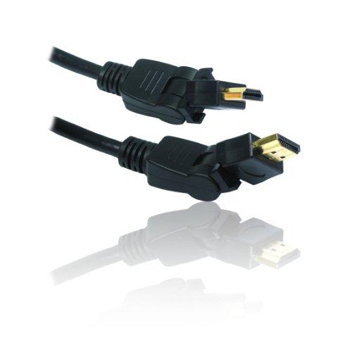 elenk Twisty biegsam HDMI V1.4Ethernet HEC ARC Stecker Kabel ()
