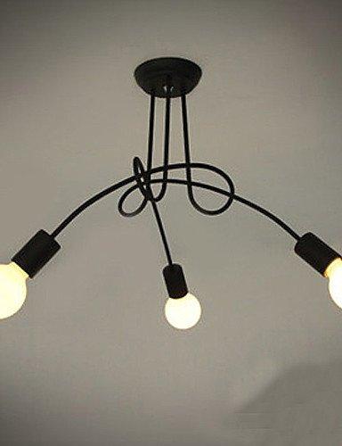 Goud lampadario lampadario a 3luci, Moderno Caratteristiche pittura metallo