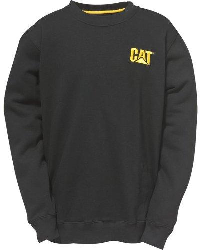 Caterpillar C1910752 Trademark New Crew Neck Sweat Shirts Work Hoodie