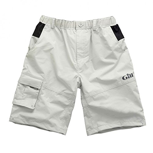 Gill Wasserdichte Hose (Gill Waterproof Sailing Shorts in Silver 4361 Sizes- - ExtraLarge)