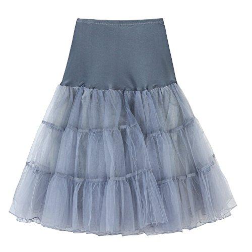 KPILP Frauen Unterröcke Hohe Taille Tutu Plissee Petticoat -