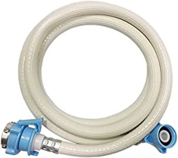 Neerjharini Shatm Cold and Hot Water Inlet PVC Pipe Hose for Fully Automatic Top/Front Load Loading Washing Machine, 3m (SHA-007)