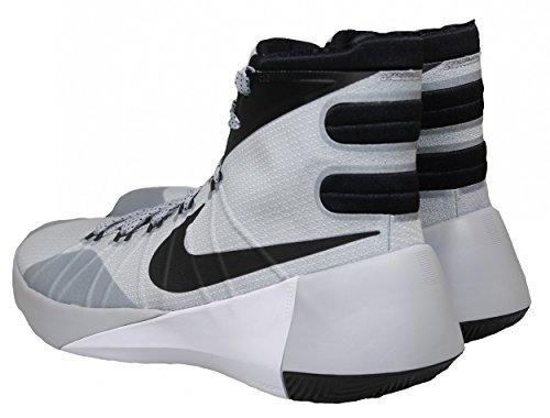 Hyperdunk Herren weiß Basketballschuhe Grau Talla white Nike black 2015 schwarz wolf Grey AHqTxawB