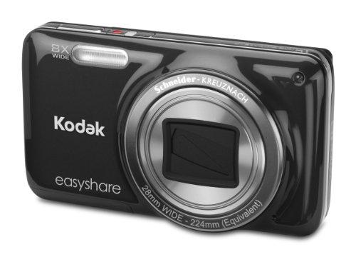 Kodak EasyShare M583 Digitalkamera (14 Megapixel, 8-fach opt. Weitwinkelzoom, 7,6 cm (3 Zoll) Display) schwarz