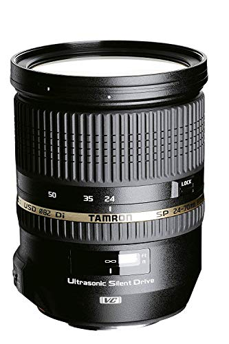 Nikon D750 Body Fotocamera Reflex Digitale, 24,3 Megapixel, Lexar SD 16 GB [Nital card: 4 anni di ga + Tamron A007N Obiettivo Zoom di Alta Luminosità per Nikon, SP AF 24-70 mm, F/2.8 Di VC USD, Nero