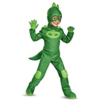Disguise Gekko Deluxe Toddler PJ Masks Costume Small/2T 17166S