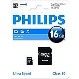 Philips 16 Go Class 10 Carte Micro SDXC avec adaptateur