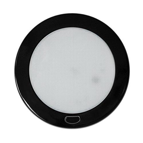 (Eltern) Dream Beleuchtung 12V 12,7cm LED Licht Paneele mit Fluoreszierende Schalter, weiß Shell (Innenbeleuchtung Fluoreszierende)