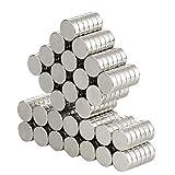 Aimant Néodyme, Aitsite 100 Pcs 10*3mm Premium Aimants Néodymes Pour Tableaux Magnétiques, Tableau Blanc,Réfrigérateur,Interactif, Surface Magnétiques, Bricolage