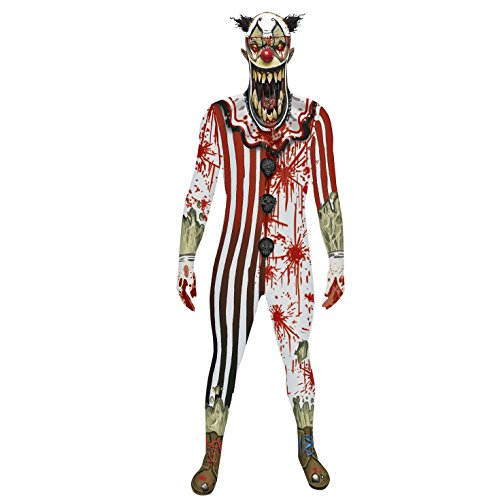 pper Orc Clown Halloween Fancy Kleid Kostüm M-XXL morphsuits (Clown Kiefer Dropper Orc Kostüm) (XL 5
