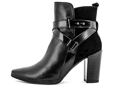 Hispanitas, Stivali donna nero nero, nero (nero), 38