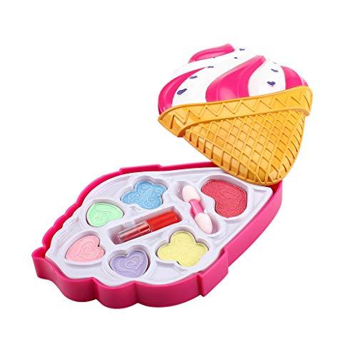 MA87 Mädchen Schminkspielzeug Pretend Play Schminkset für Kinder Ideal für kleine Mädchen (B) (Elefanten Kostüm Für 8 Jährige)
