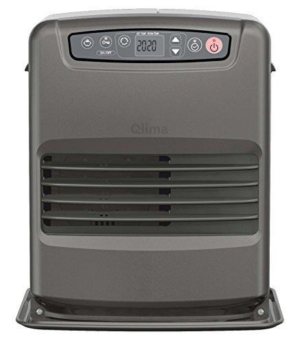 Qlima© Petroleumofen - elektronischer Laserofen SRE3230C2 mit CO2-Wächter 3,0 KW (Ofen-ventilator-timer)