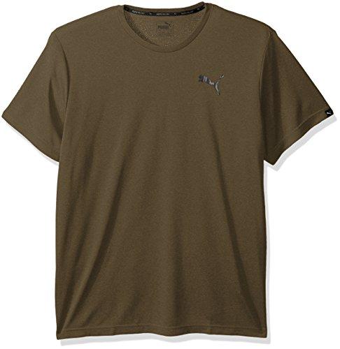 PUMA adulto unisex da uomo Active T-shirt  Camicia Olive Night