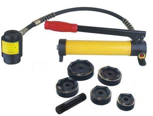 Gowe Knockout hydraulique Outil trou macking Short hydraulique Outil Punch outil hydraulique avec la gamme Die de 63 mm à 114 mm