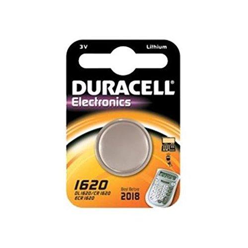 2er Set Duracell CR 1620 D 1-BL Duracell (DL 1620) Knopfzelle Lithium