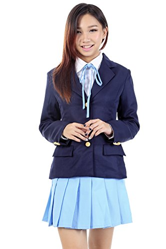 De-Cos K-On! Ho-kago High School Uniform Mugi Kotobuki Tsumugi V2 (Kostüm On K Uniform)