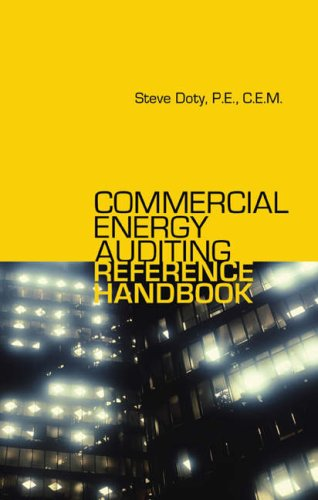 Commercial Energy Auditing Reference Handbook