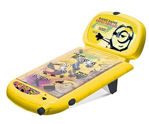 IMC Toys - 375062 - Flipper Superpinball Minions, Giallo