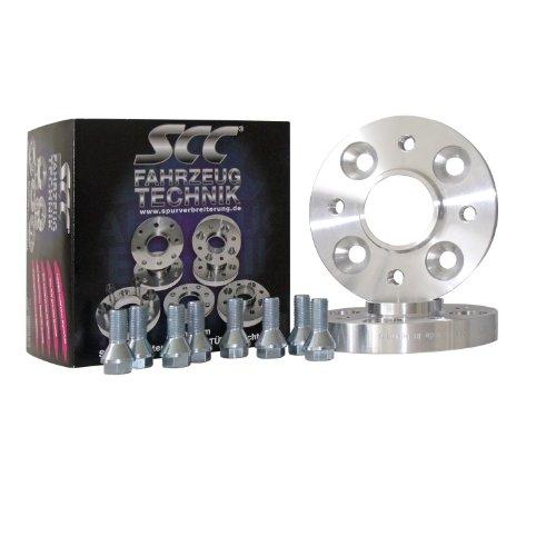 Preisvergleich Produktbild SCC Distanzscheibe ALU 20mm für Citroen C25, 280L, 280P, 290, 290L, 290P (Spurverbreiterung System 4) (LK 108/5 NLB 67,1) (40mm pro Achse)