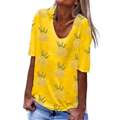 Beikoard Blusa Estampado Mujer Imprimir Camiseta Mujer