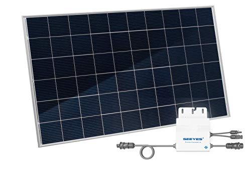 Home-Solar-Modul 280Wp, produziere deinen eigenen Strom auf Balkon, Garten, Fassade, Terrasse, Dach, etc. mit unserem hochwertigen Balkonkraftwerk (HSM ohne Ständer + ohne Anschlusskabel)
